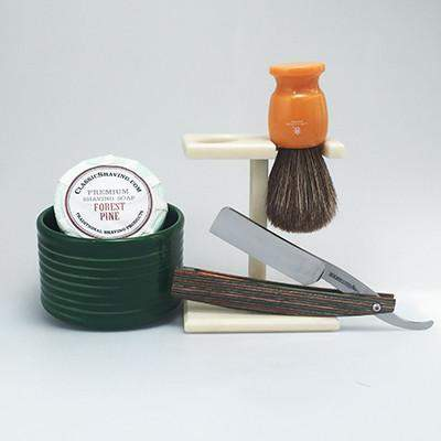 Irish Flag Straight Razor Set-