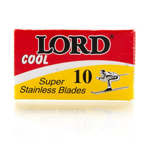 Lord Cool Blades - 10 pack (Skier on Box)-