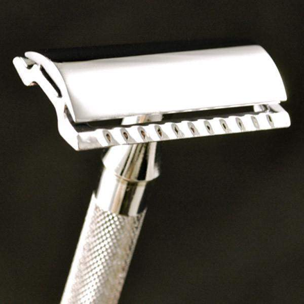 "Merkur ""Classic"" Safety Razor [Open (15C) or Closed (33C) Comb]-"