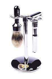 "Merkur ""Futur"" 3-Piece Set, Polished-"