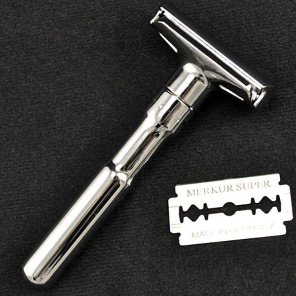 "Merkur ""Futur"" Adjustable Double-Edge Razor-"