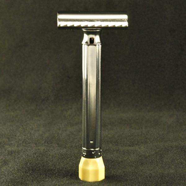 "Merkur ""Progress"" Adjustable Safety Razor (2 Handle Lengths)-3.75"""