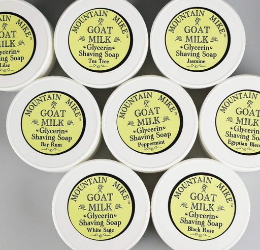 Mountain Mike Goat Milk Shaving Soap-Bay Rum