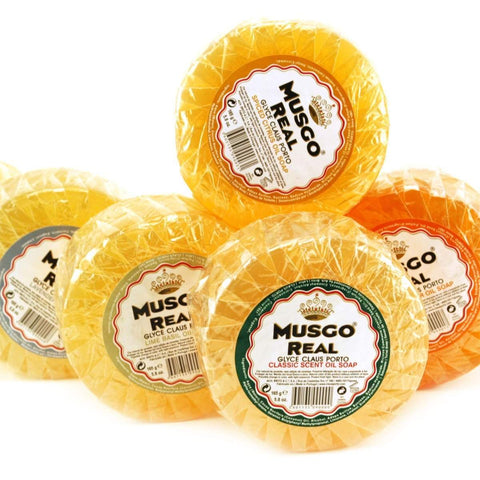 Musgo Real Glycerin Lime Oil Soap-Classic Scent