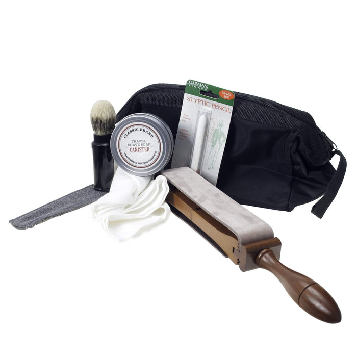 On the Road Straight Razor Travel Kit-