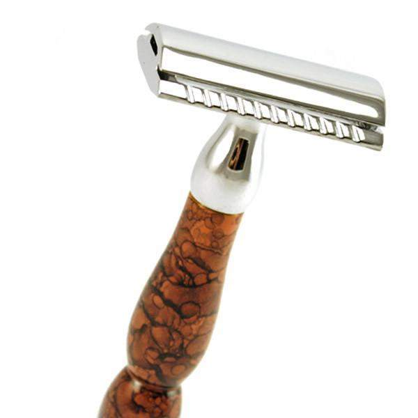 Parker 45R Chrome and Enamel Safety Razor-