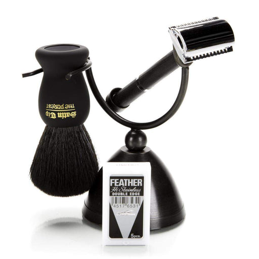 Parker 71R Black Safety Razor Set-