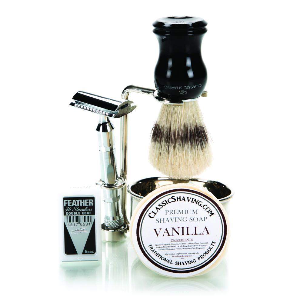 Parker 89R Chrome Safety Razor Set-