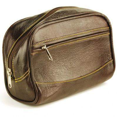 Parker Leather Dopp Bag-