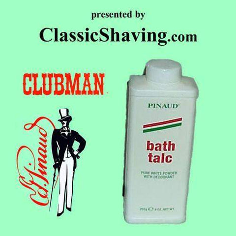 "Pinaud/Clubman ""Deodorant"" Bath and Shower Talc-"