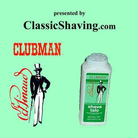 Pinaud/Clubman Shave Talc-