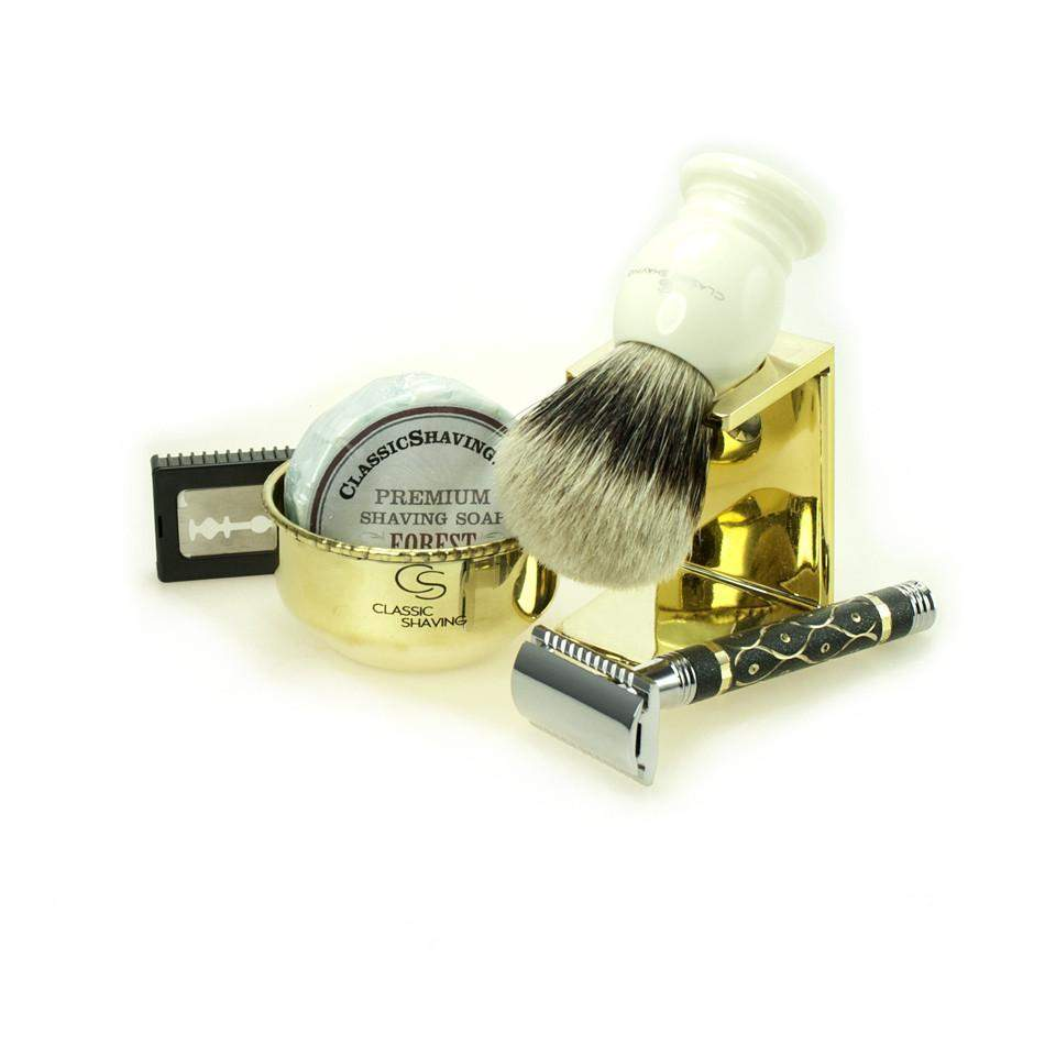 Pot o' Gold Safety Razor Set-