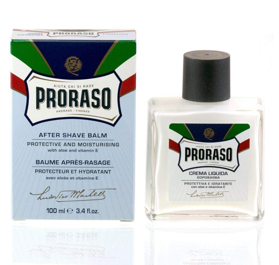 "Proraso ""Aloe & Vitamin E"" Protective & Moisturizing Aftershave Balm-"