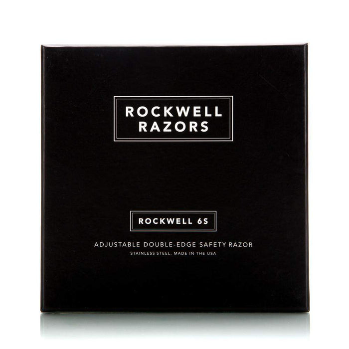 ROCKWELL 6S - Adjustable Stainless Steel Safety Razor-