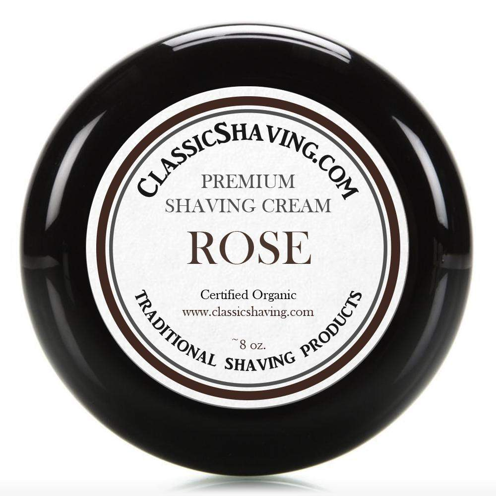 Rose - Classic Shaving Cream-