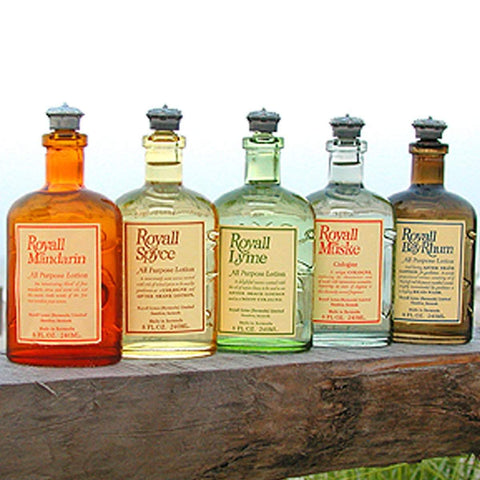 Royall Lyme All Purpose Lotions/Cologne 8.0 oz-Bay Rhum