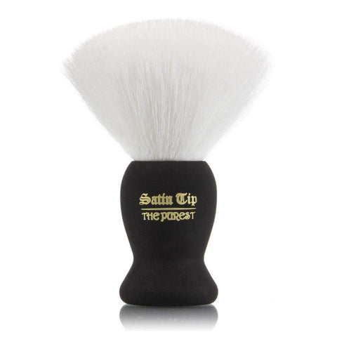 Satin Tip - The Purest - Luxury Synthetic Shaving Brush White-