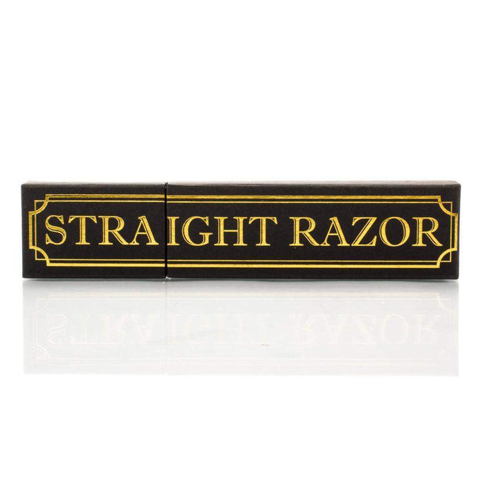 "Shave Ready 6/8"" GD 208 With Classic Straight Razor Slip Case-"