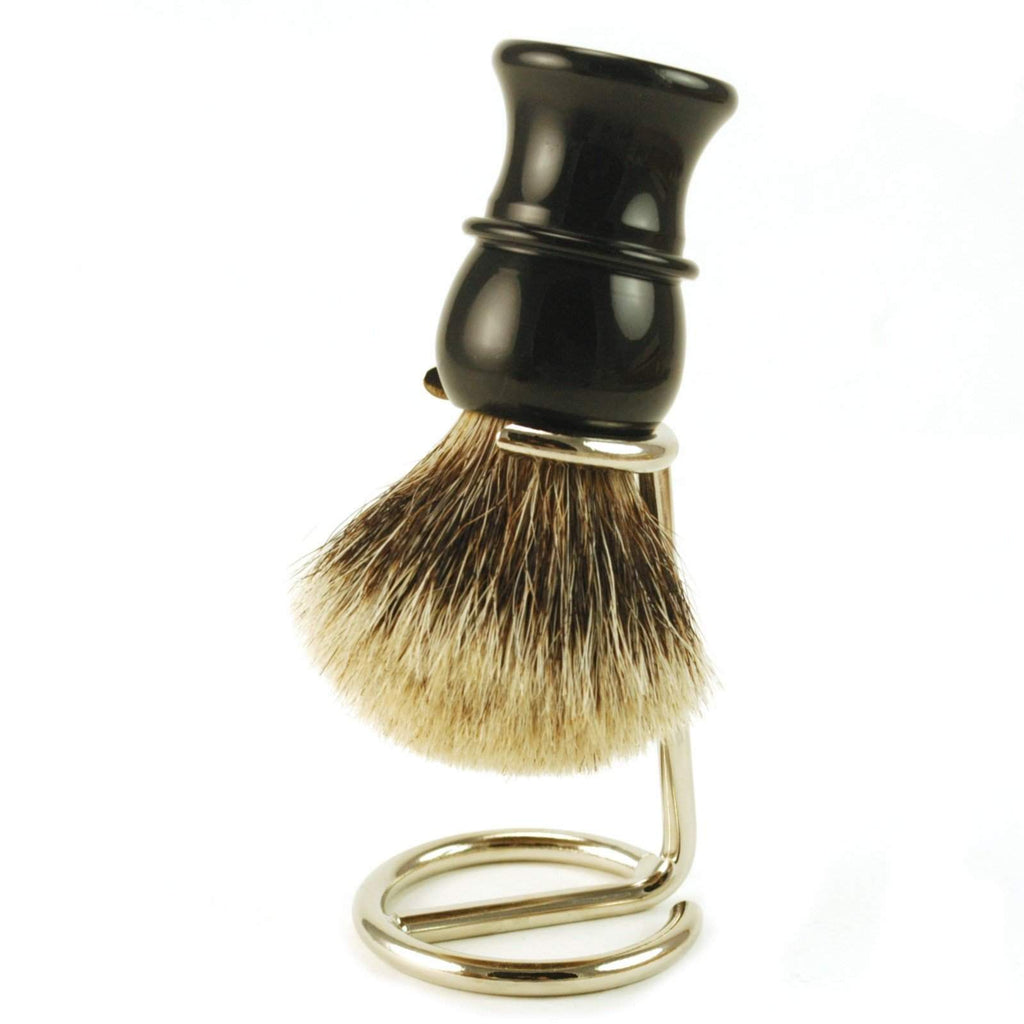 Shaving Brush Stand Nickel-