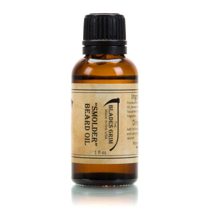 Smolder Beard Oil - By The Blades Grim-
