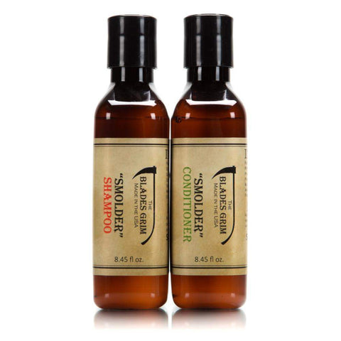 'Smolder' Shampoo & Conditioner Combo - By The Blades Grim-