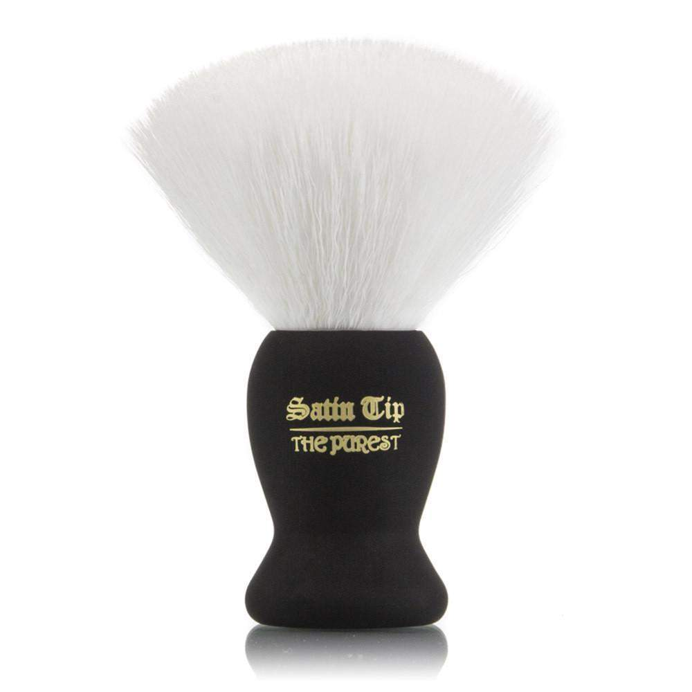 Smolder Soap and Satin Tip - The Purest White Shave Brush Combo-
