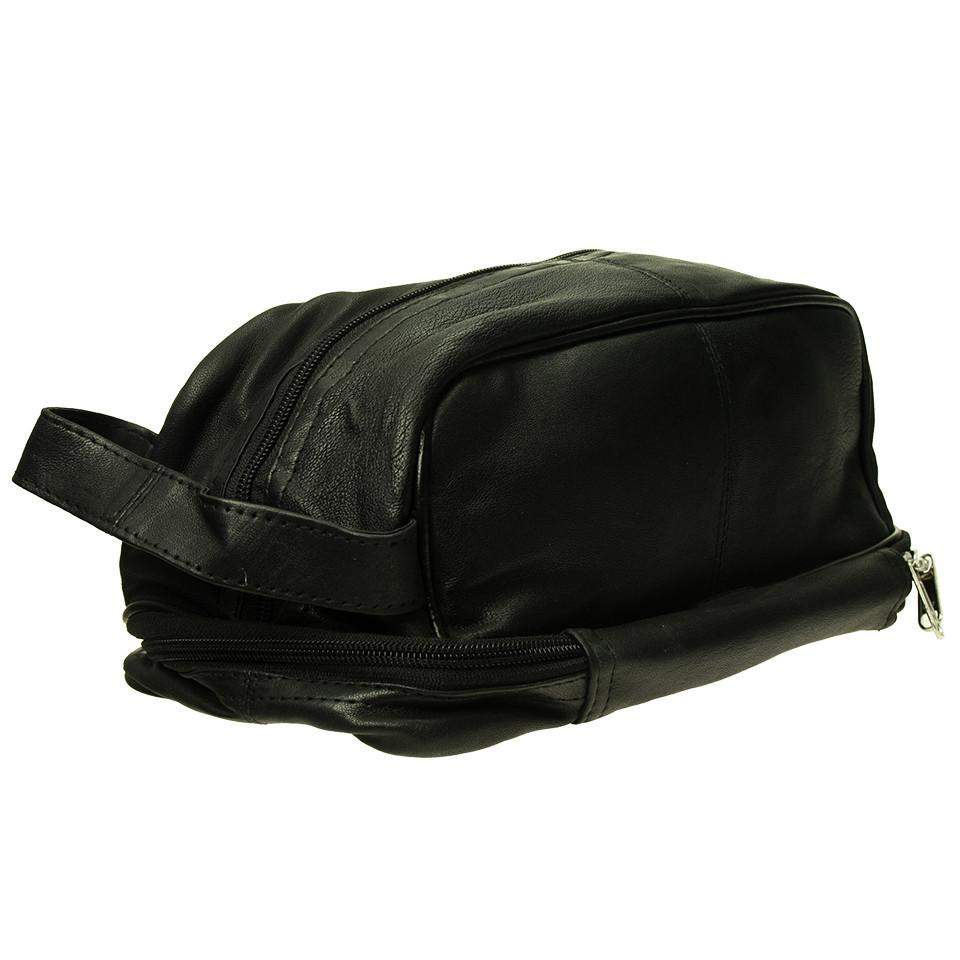 Soft Leather Dopp Bag-