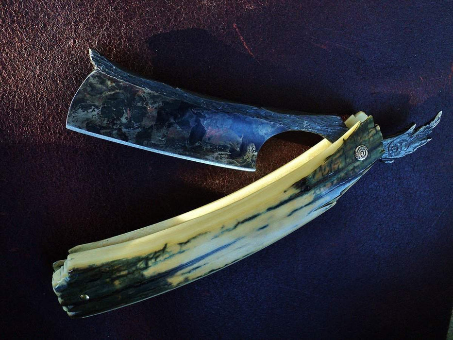 SOLD-Dylan Farnham #33, Custom Straight Razor-