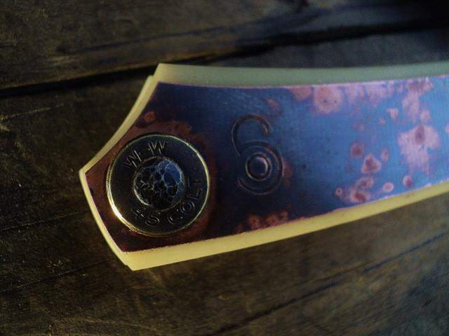 SOLD-Dylan Farnham #35, Custom Straight Razor-