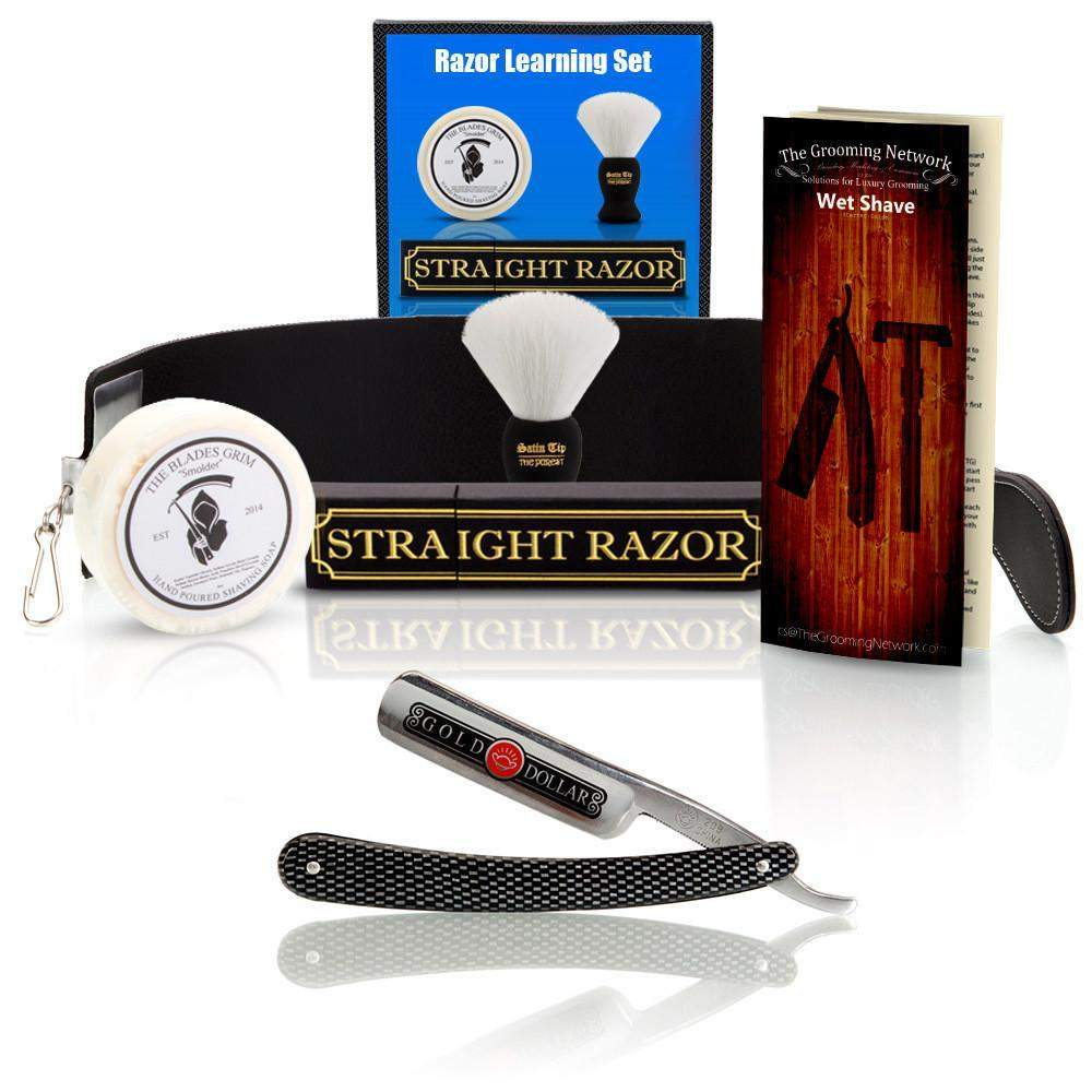 Straight Razor Learning Set - Blunt Edge-