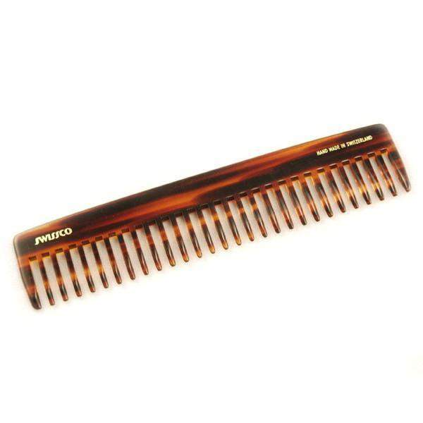 Swissco Tortoise Dressing Comb Wide Tooth 7.5 inch-