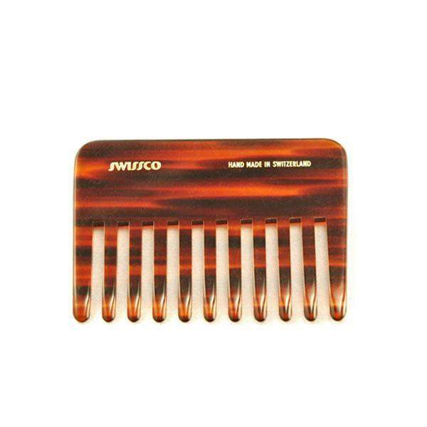 Swissco Tortoise Perm Comb Wide Tooth 4 inch-