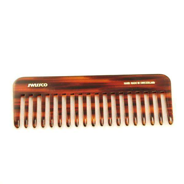 Swissco Tortoise Purse Comb Wide Tooth 6 inch-