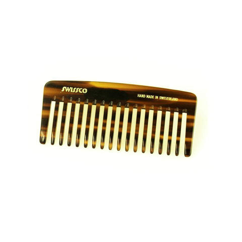 Swissco Tortoise Wide-Tooth Purse Perm Comb 4.25 inch-