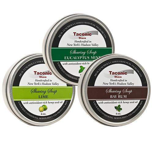 Taconic Shave Soap-Fresh Lime