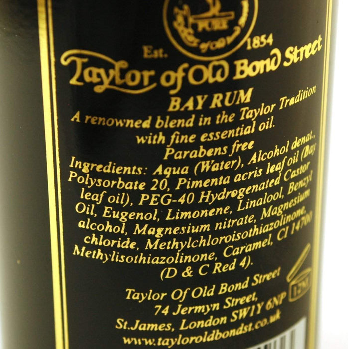 "Taylor of Old Bond Street ""Classic Bay Rum"" (150ml)-"
