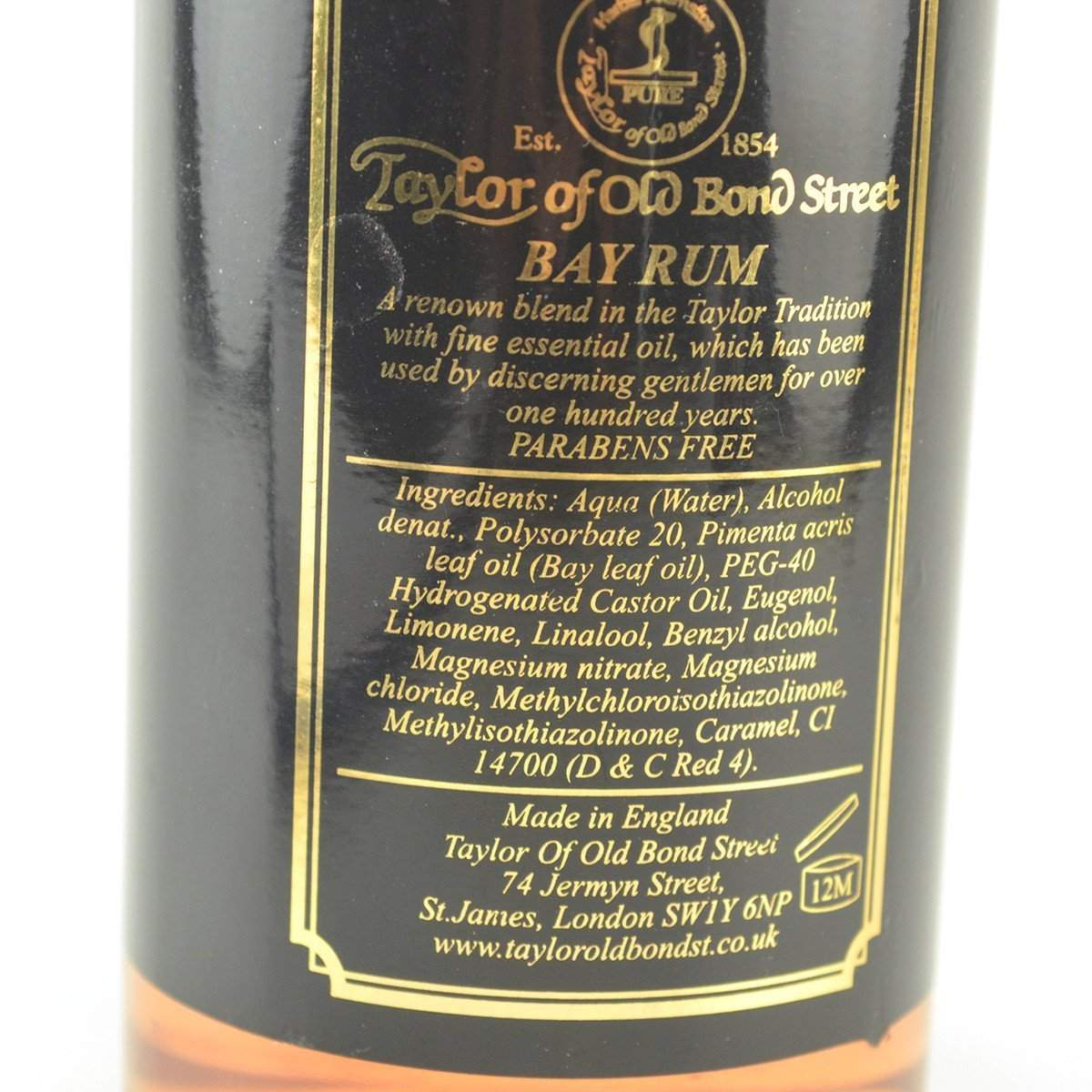 "Taylor of Old Bond Street ""Classic Bay Rum"" (250ml)-"