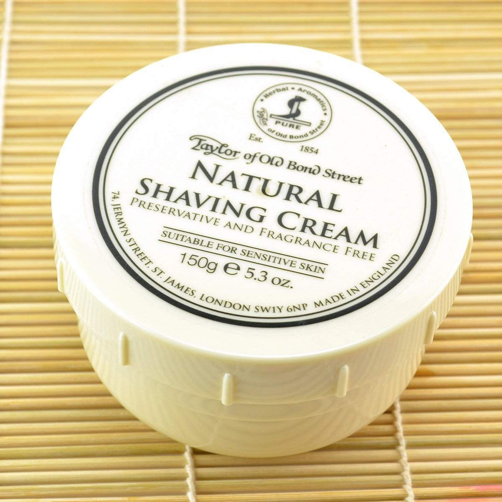 Taylor of Old Bond Street Natural Shaving Cream-