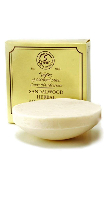 Taylor of Old Bond Street Shaving Soap Refill 100gm-Sandalwood