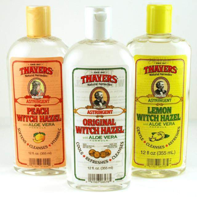 Thayers Witchhazel with Aloe Vera Astringent & Cleanser-Lemon