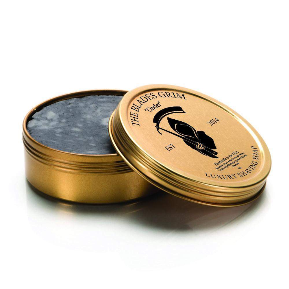 "The Blades Grim Gold Luxury Shaving Soap - ""Cinder""-"