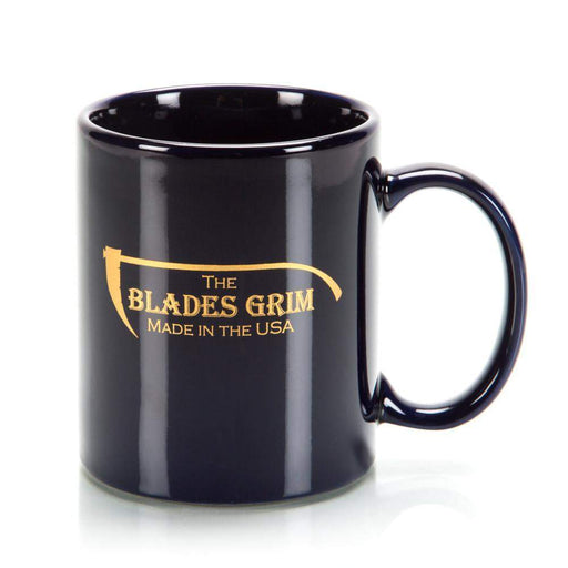 The Blades Grim Shaving Mug - 2 Sided Custom Etch-