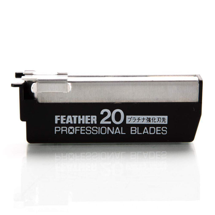 "The Cobra Classic-Feather Razor ""Professional"" Blades 20 Pack (+$14.50)"