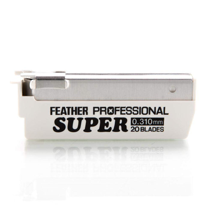 "The Cobra Classic-Feather Razor ""Professional Super"" Blades 20 Pack (+$15.50)"