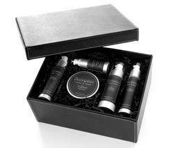 The Gentlemen's Refinery Shaving System with Gift Box-Black Ice