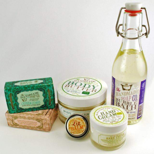 The Handmade Soap Co. Gift Box - Pamper Kit (out of date)-