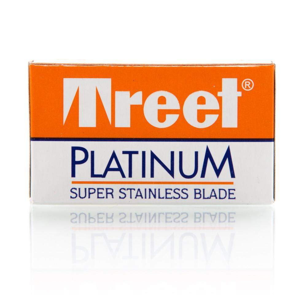 Treet Platinum Super Stainless Steel Blades - 10 pack-