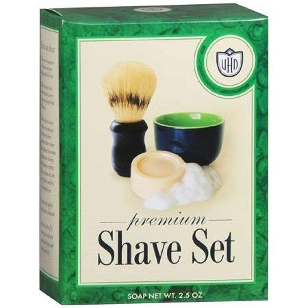 Van Der Hagen Premium Shave Set (Soap, Bowl, Brush) Box Kit-
