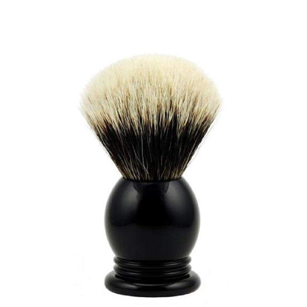 Vintage Blades Brand Finest Badger 20mm Shaving Brushes-Faux Ebony
