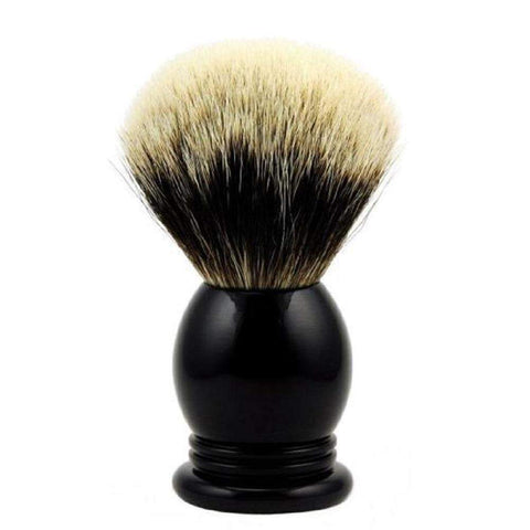 Vintage Blades Brand Finest Badger 24mm Shaving Brushes-Faux Ebony